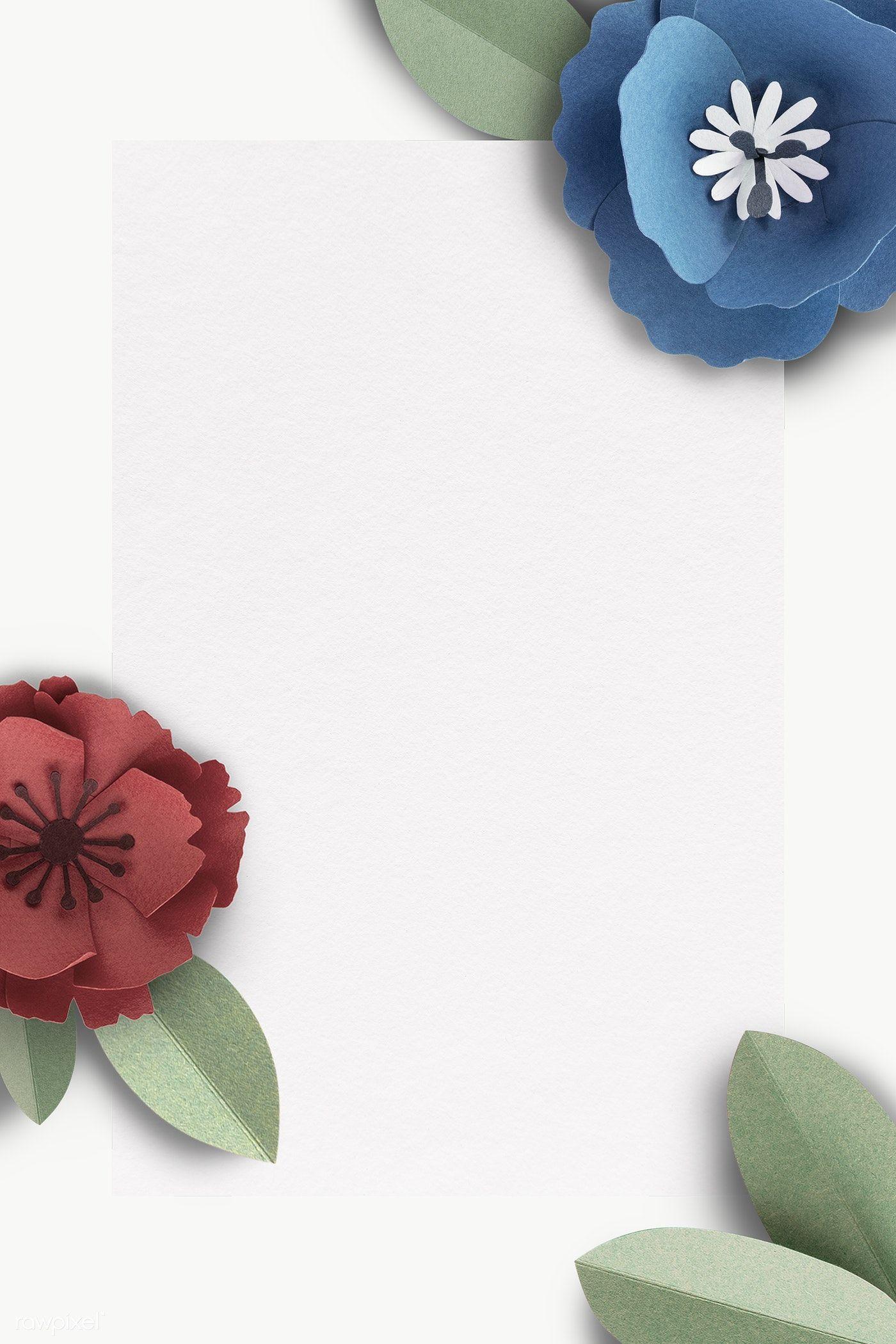 Download Premium Png Of Flower Decorated Gray Banner Transparent Png Flower Illustration Flower Frame Flower Decorations
