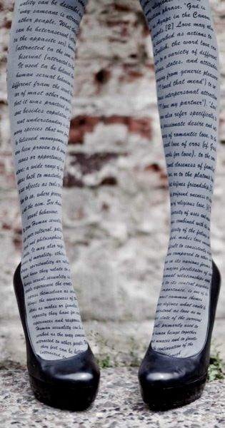 Typeset tights by Trendy Legs