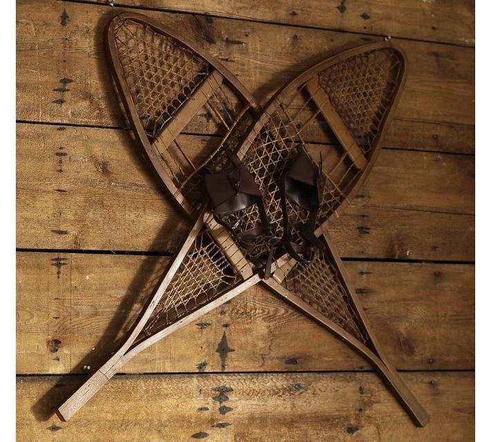 Old School Snow Shoes :)