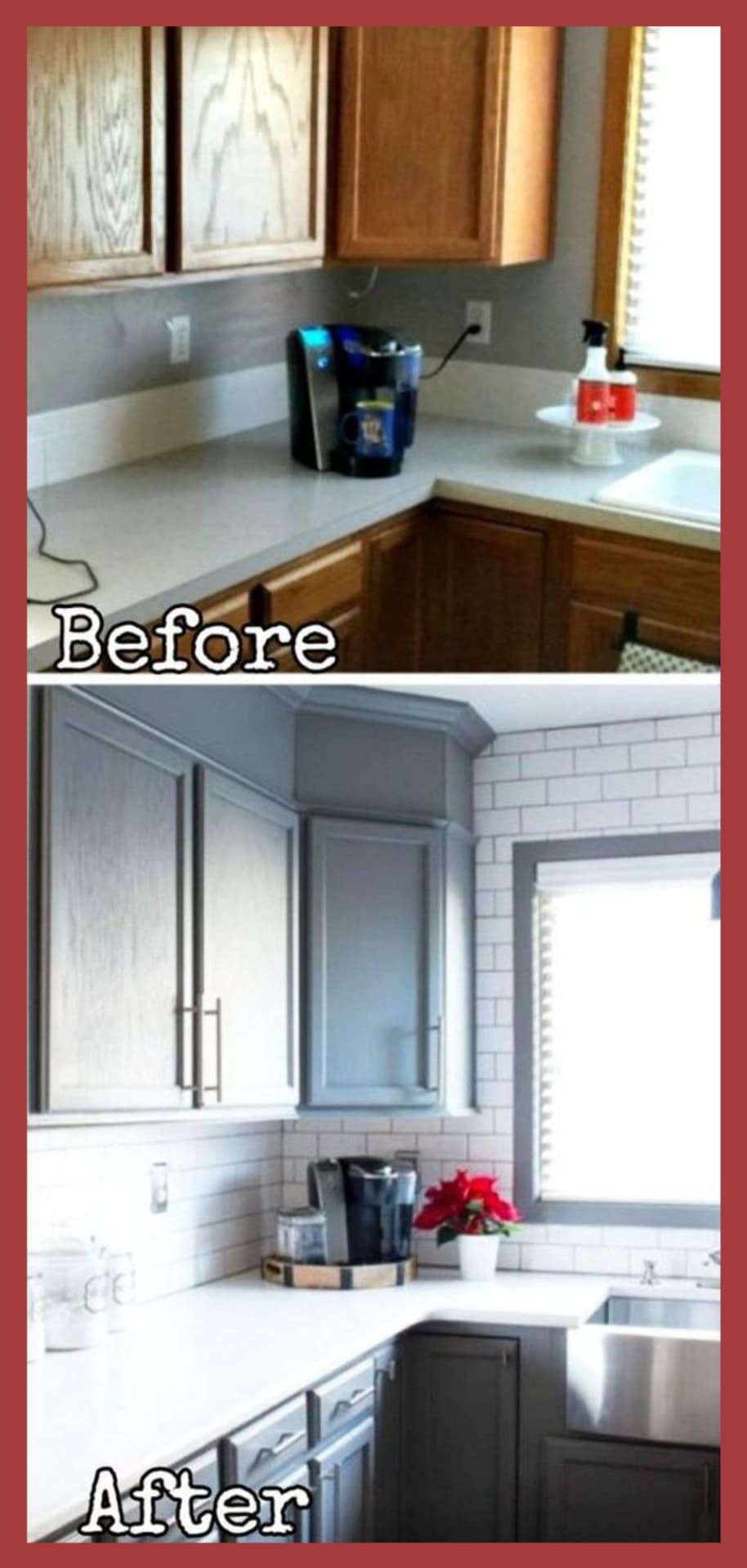 Ben Ellen S Kitchen Before After Pictures Kitchen Remodel Small Home Remodeling Contractors Home Remodeling Diy