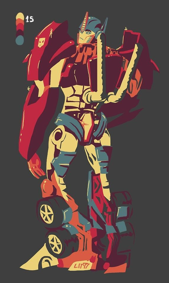 Optimus Prime - TFP fan art (tumblr) | Friends on Cybertron