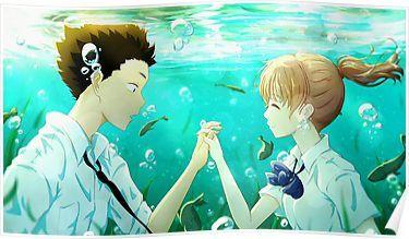 A Silent Voice Poster Anime Films Anime Anime Love