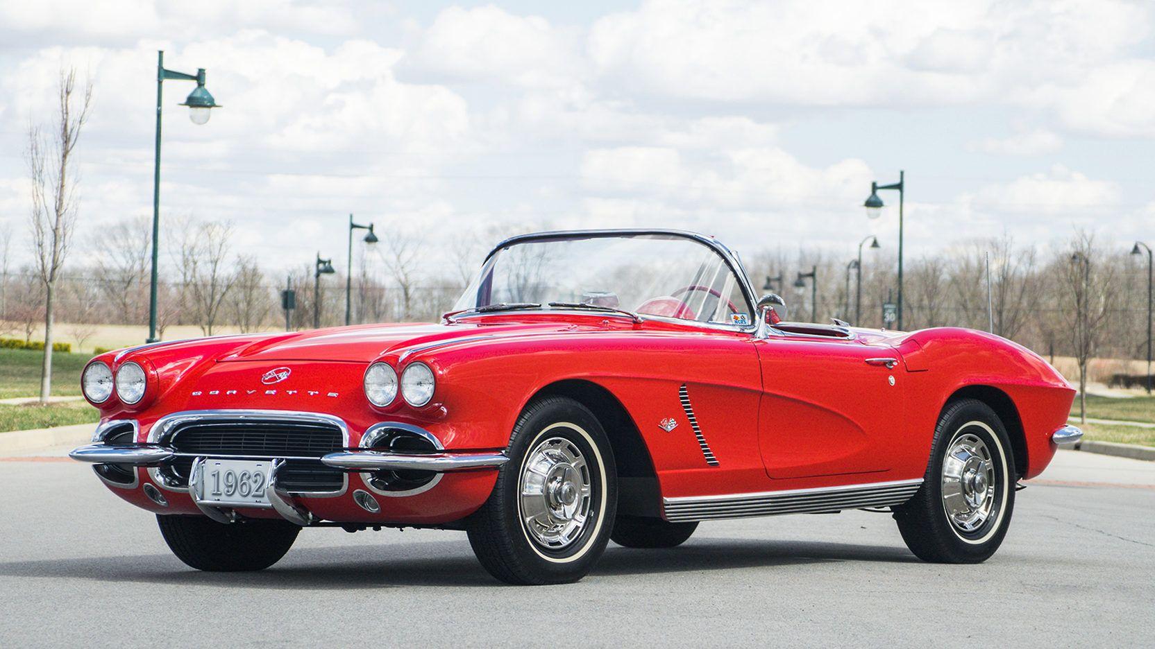 1962 Chevrolet Corvette Convertible Presented As Lot S215 At Indianapolis In Corvette Convertible Chevrolet Corvette Corvette