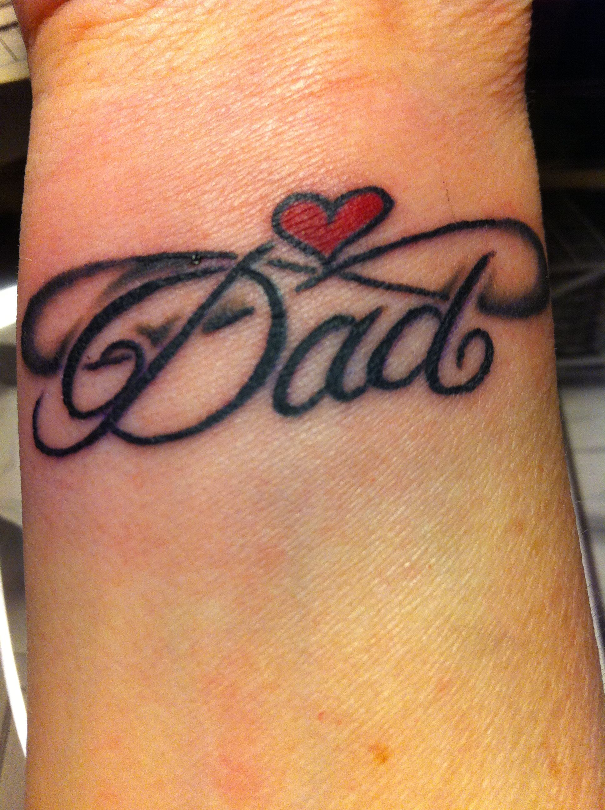 Tattoo Ideas Rip Dad: My Tattoo Done Today 13th February 2013 In Memory Of Dad