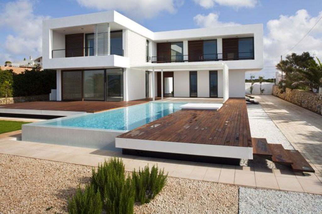 Summer House Plans With Swimming Pool Design In Menorca, Spain   Viahouse.