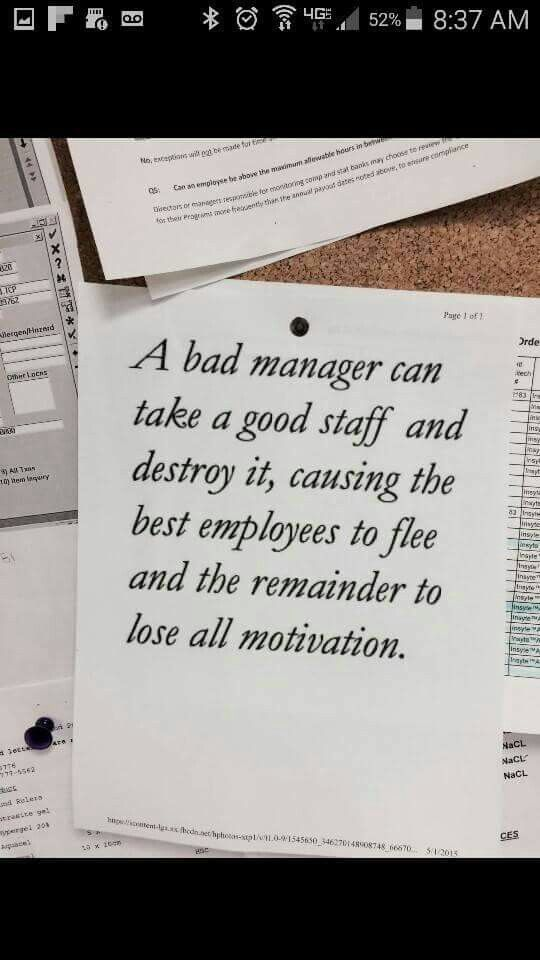 Bad Supervisor Work Quotes Meaningful Quotes Supervisor Quotes