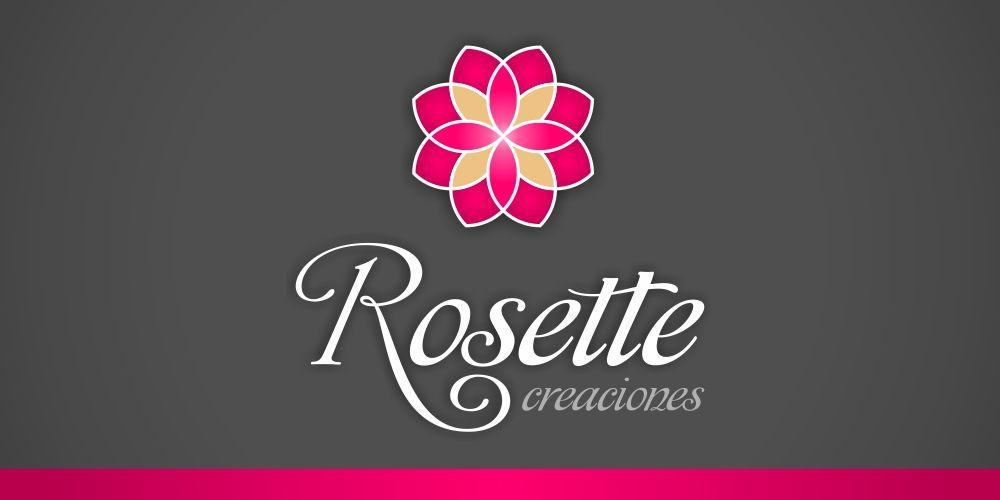 Diseño de Logotipo para Rosette Creaciones – Bisutería