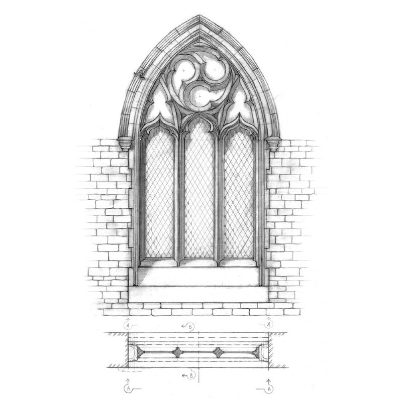 How To Draw Gothic Architecture