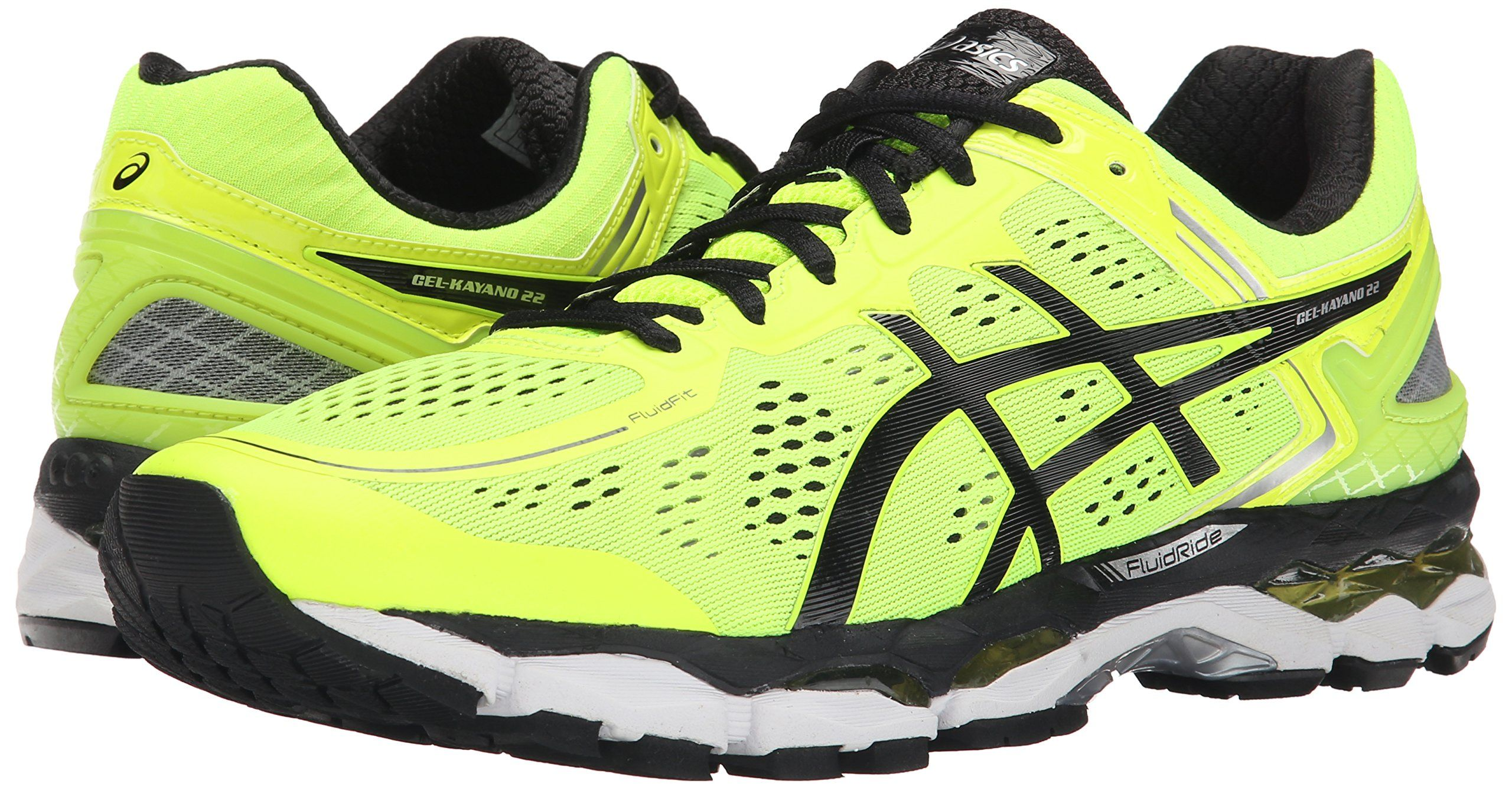 Amazon.com: ASICS Men's GEL-Kayano 22 Running Shoe: Clothing · Gel Kayano  22Yellow BlackBlack SilverRunning ...
