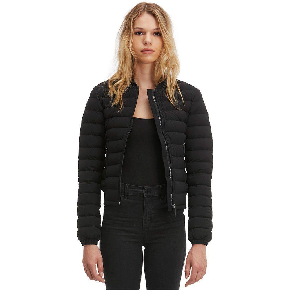 MOOSE KNUCKLES Womens Rosedale Bomber Jacket | NEW Black
