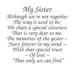 Happy Birthday Little Sister Poems Funny 4 Sister Pinterest