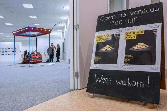 Expositie Dysfunctional Matters is t/m 30 mei 2015 gratis te zien op elke dinsdag t/m zaterdag van 12.00 tot 17.00 uur © Geert Fotografeert / Corrosia Stad