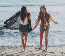 Inspiring image beach, best friends, bff, blonde, chic, cool, enjoy, fashion, free, freedom, girl, grunge, hair, hairstyle, happy, hipster, holiday, long hair, ocean, photo, photography, sea, summer, summertime, sun, sunshine, travel, tumblr, wave, we heart it #3229660 by loren@ - Resolution 500x500px - Find the image to your taste