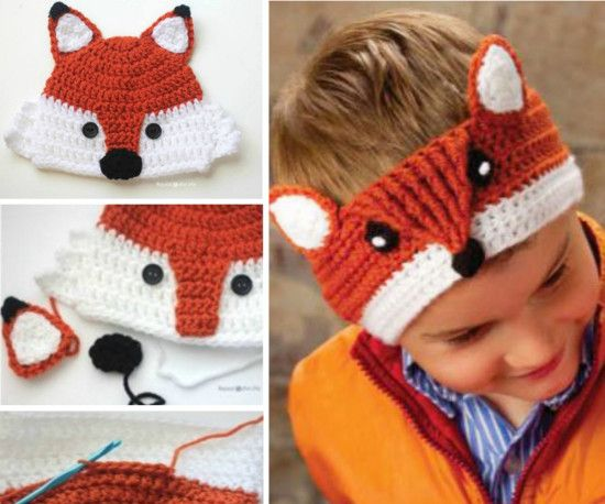 Free Crochet Baby Animal Hats Pinterest Top Pins | Bricolaje ...