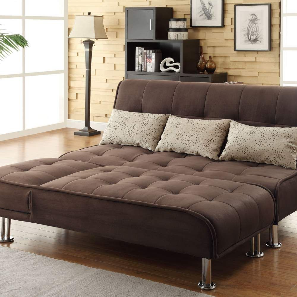 sofa modern look with a low profile style with walmart sofa bed ...