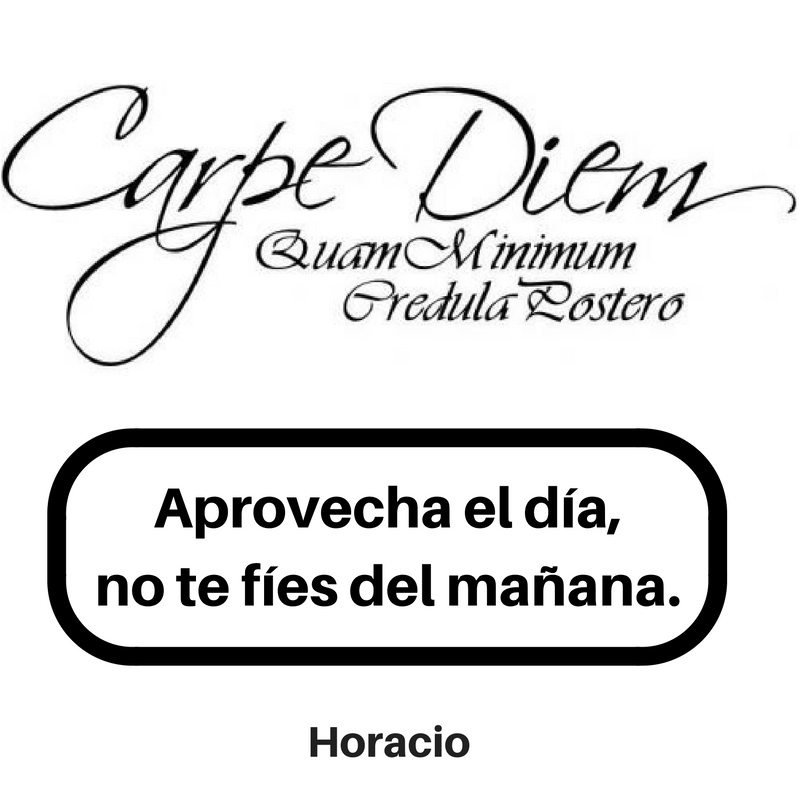 Image result for images Horacio frases carpe diem aprovecha el dia