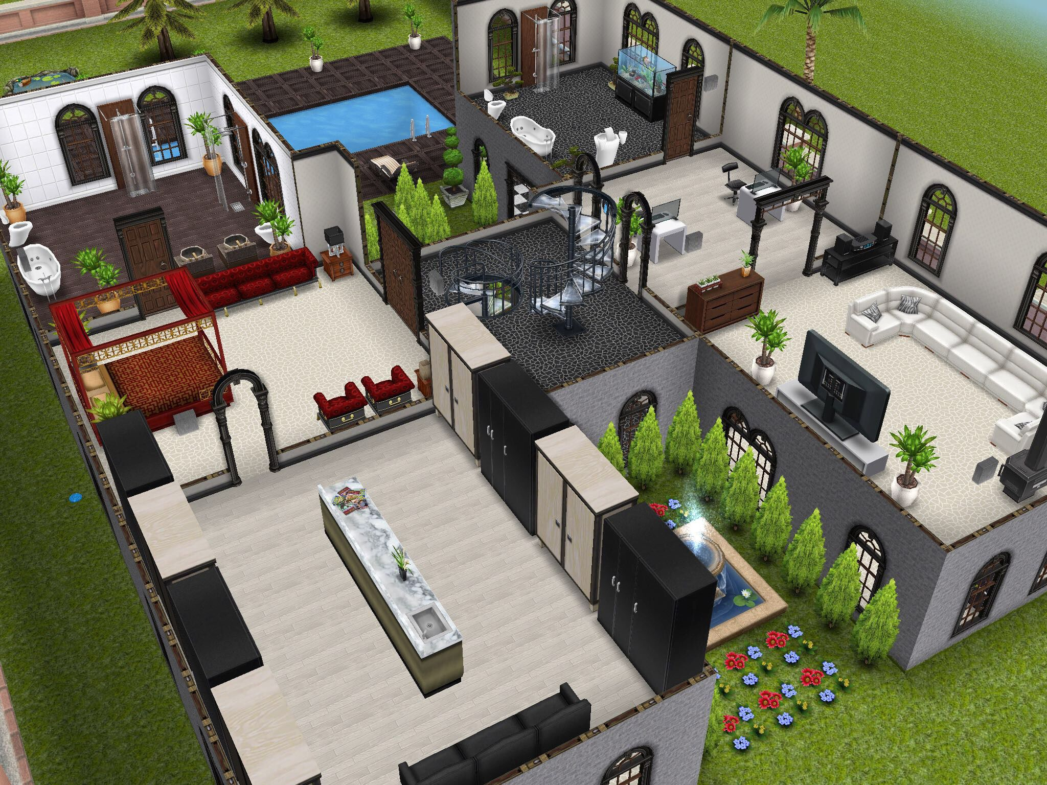 How to make a second floor on sims freeplay thefloorsco for How to make a second floor on sims freeplay