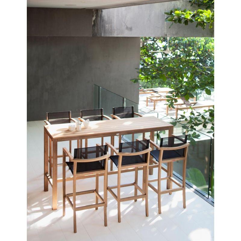 royal botania xqi barstuhl mit armlehnen royal botania red label st hle barst hle und bar. Black Bedroom Furniture Sets. Home Design Ideas