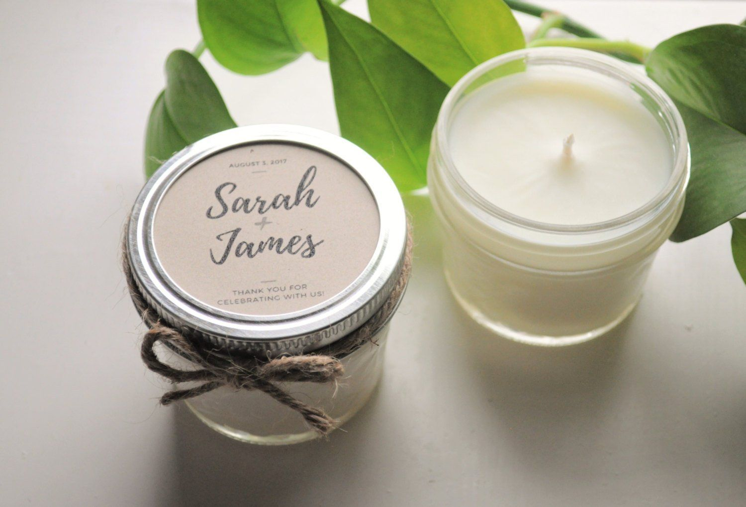 12 Wedding Favor Candles Wedding Gift For Guests Candles Wedding Giveaways Personali Candle Wedding Favors Wedding Gifts For Guests Trendy Wedding Favors