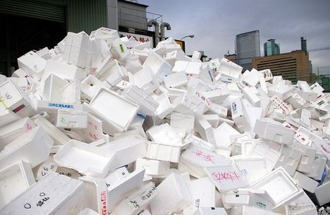 Recycling Eps Styrofoam How Is Expanded Polystyrene Recycled Recycle Refill Save Styrofoam Recycling Styrofoam Crafts Styrofoam