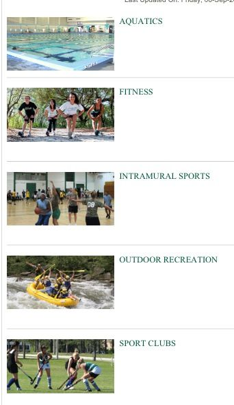 Extracurricular activities at USF