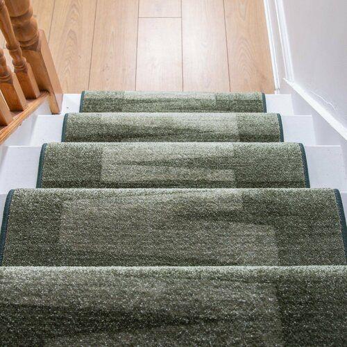 Innen-/Außenteppich Benedick in Dunkelgrün Ebern Designs Teppichgröße: Läufer 100 x 840 cm