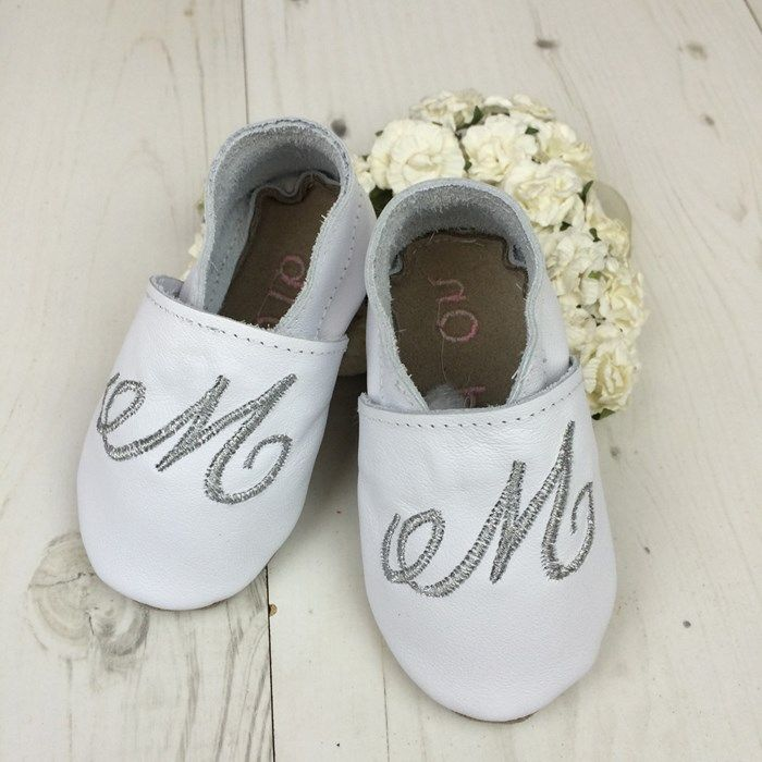 36c0b39d61ae Personalised Initial Baby Shoes