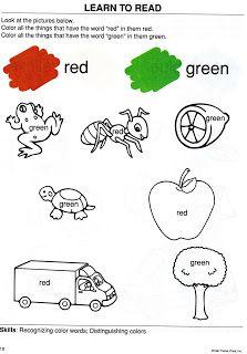 Atividades De Ingles Para Criancas Ingles Para Criancas