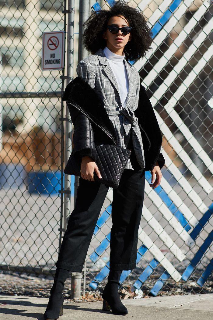 Best Street Style New York Fashion Week SS18   Cool street