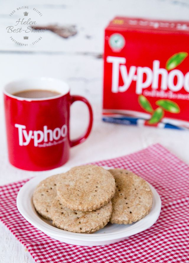 Tea and a digestive biscuit is a British classic - why not try baking these tea flavoured digestive biscuits?
