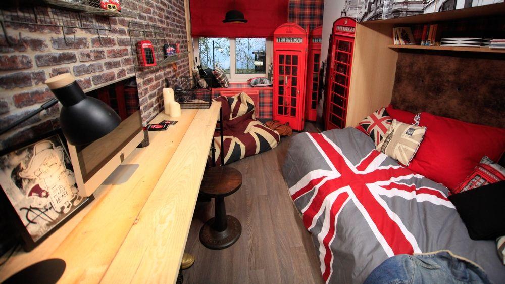 Awesome Decoration Chambre Ado Style Anglais Ideas - Design Trends ...