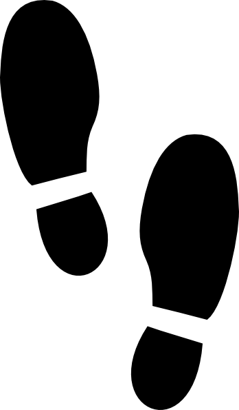 http www clker com cliparts d o v 6 1 5 shoe prints hi png vbs rh pinterest co uk clip art footprint shapes clipart footprints free