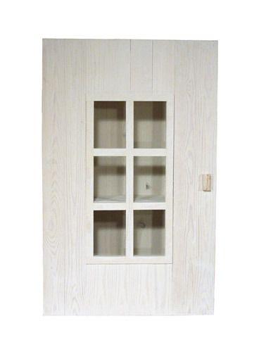 Seinäkaappi, valkoinen