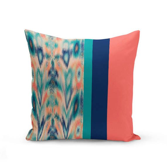 Outdoor pillow in a color pattern block designs Individually cut - pattern block template