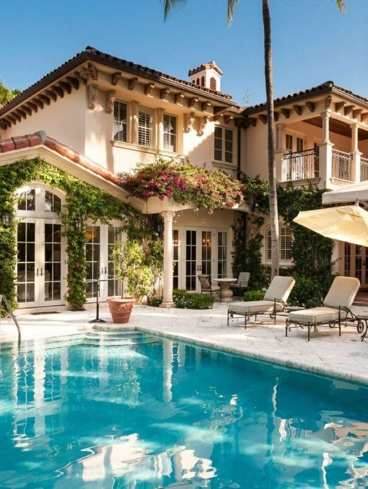 40+ Deluxe And Modern Mediterranean Home Design Ideas – #20s #Deluxe #Design #Ho…