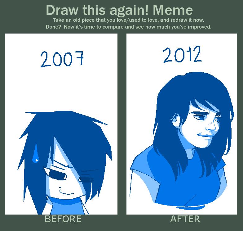 Draw This Again Meme By Raiilynezz On Deviantart Art Style Challenge Draw Art