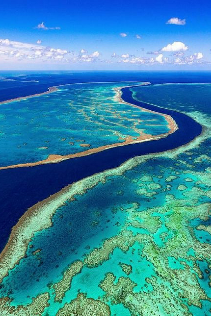 Great Barrier Reef Australia Great Barrier Reef Beautiful Places To Visit Tourism Day