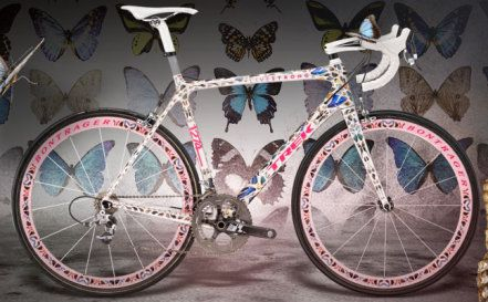 Trek Butterfly Madone 500 000 Dollars So This Is Coated With