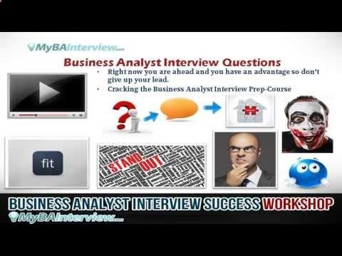 BA Interview Workshop - Business Analyst Interview Questions (Video