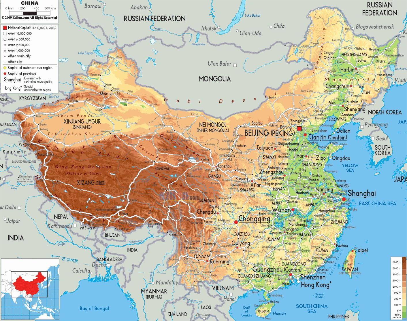 Map Of China Coloring Page Awesome Unique Physical Map China