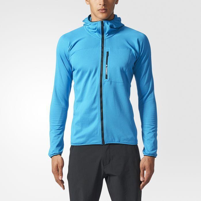 Ashley Furman malo seco  adidas TERREX TraceRocker Hooded Fleece Jacket - Mens Outdoor ...