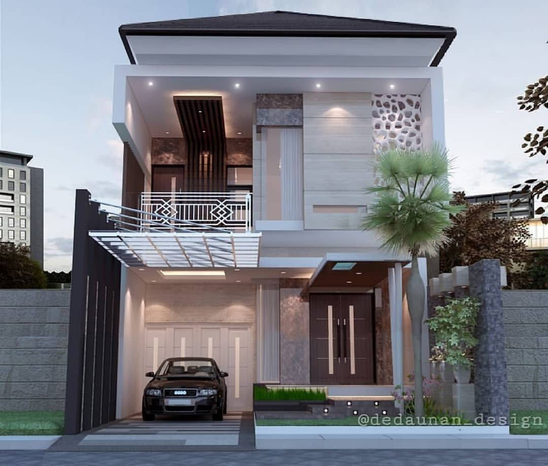 Gambar Mungkin Berisi Rumah Pohon Dan Luar Ruangan Rumah Desain Exterior Rumah Arsitektur Rumah