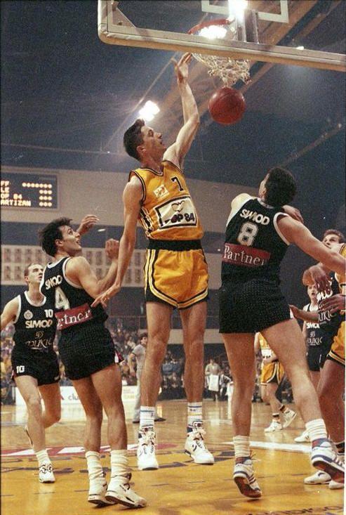 KK Split vs Partizan Belgrade, 90/91. Toni Kukoc. | Deportes ...