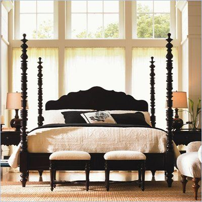 Lexington Bedroom Sets Extraordinary Lexington Long Cove Newport Wood Poster Bed 3 Piece Bedroom Set In Design Inspiration