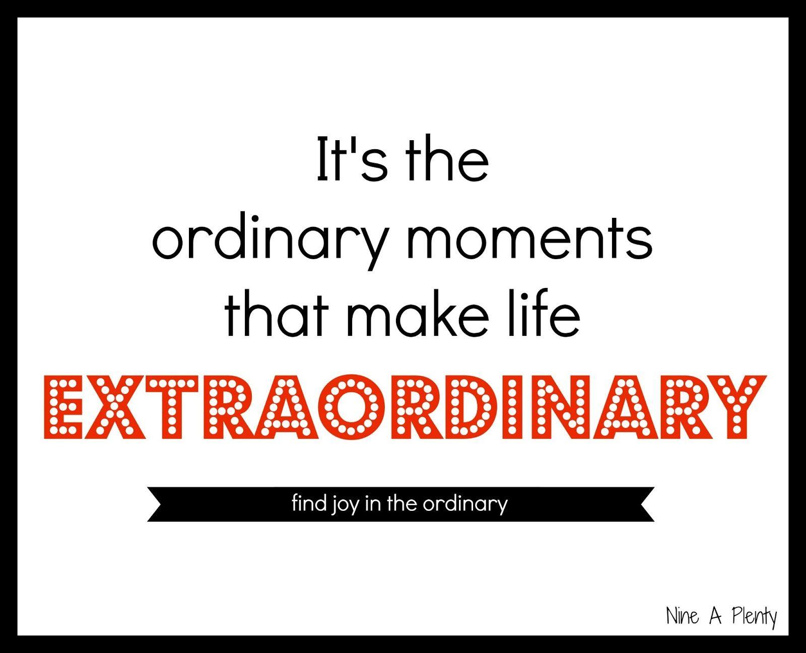 A Happy Heart Ordinary Moments