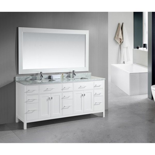Overstock Com Online Shopping Bedding Furniture Electronics Jewelry Clothing More White Vanity Bathroom Small Bathroom Vanities Modern Bathroom Vanity