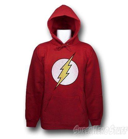 Flash Distressed Logo Women/'s Hoodie