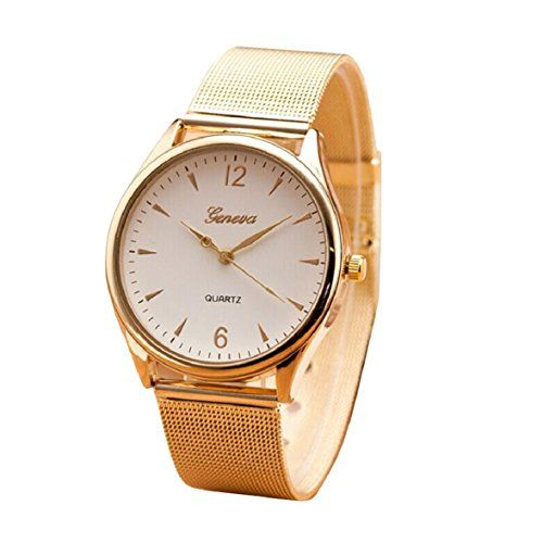 Sale Preis: Ukamshop Klassiker luxus Frauen Gold Runde Quarz Edelstahl Armbanduhr weiß. Gutscheine & Coole Geschenke für Frauen, Männer und Freunde. Kaufen bei http://coolegeschenkideen.de/ukamshop-klassiker-luxus-frauen-gold-runde-quarz-edelstahl-armbanduhr-weiss