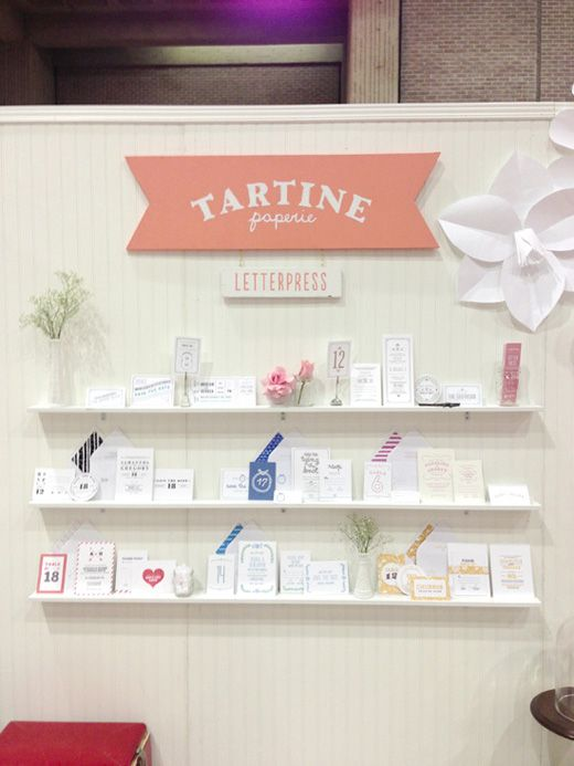 Invitation For Exhibition Booth : Tartine paperie trade show booth letterpress wedding invitations