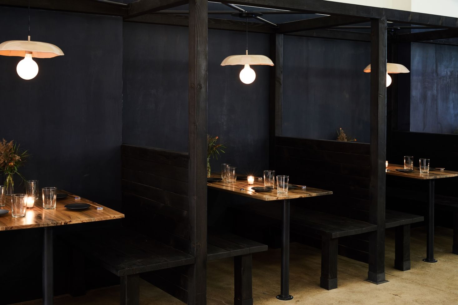 9 Design Ideas For Small Dark Rooms From Tonchin New York Small Restaurant Design Bar Design Restaurant Cafe Interior Design